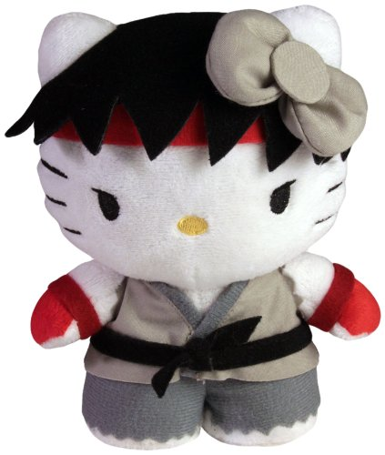 Toynami Hello Kitty Ryu Mini Plush - Street Fighter M Bison Costume