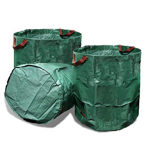 VINE RITUALS [2] Pack 272 Litre large garden bags. Reusable lightweight...