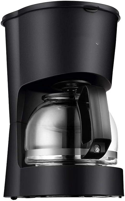 ZXvbyuff 5 Copa Cafetera con jarra de cristal, hogar automático ...