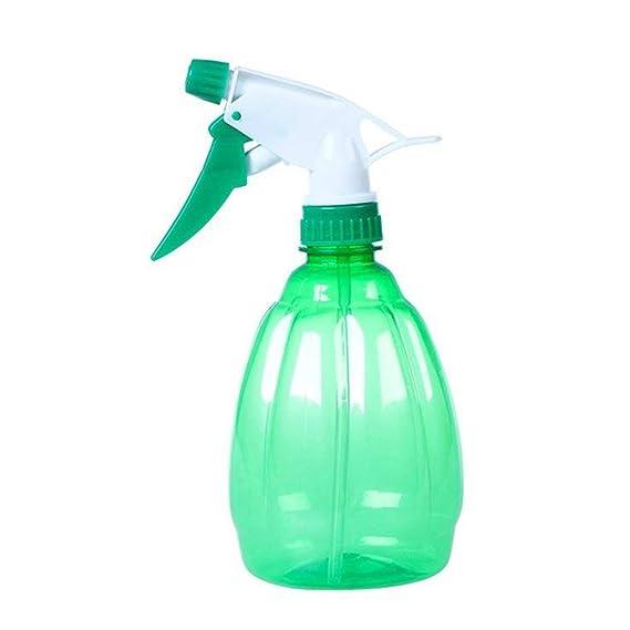1 botella de plástico para riego de plantas y flores, multifusión, botella de riego 19.5cm verde: Amazon.es: Hogar