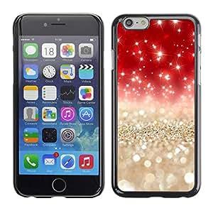 All Phone Most Case / Hard PC Metal piece Shell Slim Cover Protective Case Carcasa Funda Caso de protección para Apple Iphone 6 Plus 5.5 Pearls Gold Silver Red Glitter
