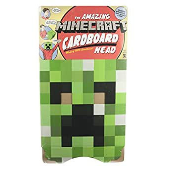 JINX Minecraft Creeper Head Costume Mask