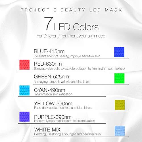 Project E Beauty 7 Color LED Mask
