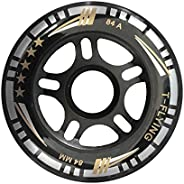 84A Inline Skate Wheel for Adults 84mm 90mm PU Replacement Wheel for Speed Skating Without Bearings