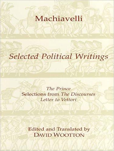 Selected Political Writings (Hackett Classics)