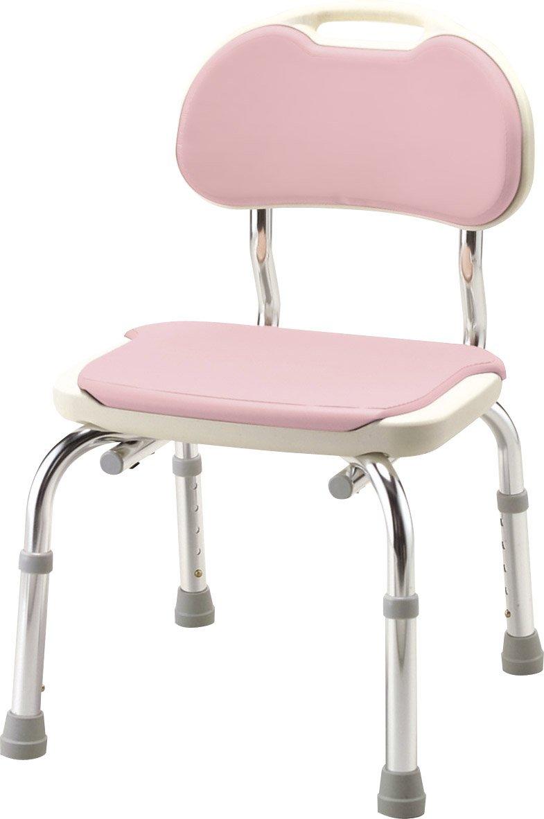 安寿 背付シャワーベンチCPE-N ピンク B001GZBKRU ピンク ピンク