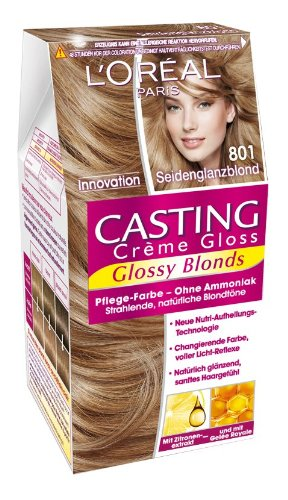 Coloration casting creme gloss blond vanille 801