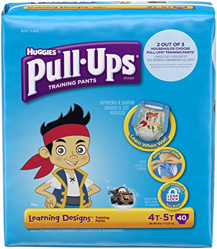 Huggies Pull-Ups Training Pants Learning Designs - Boys - 4T-5T - 40 ct