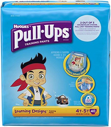 Huggies Pull-Ups Training Pants Learning Designs - Boys - 4T-5T - 40 ct