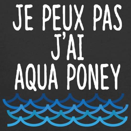 Noir Pas Peux Couleurs Poney J'ai 13 shirt T Aqua Homme Je pOndfvwf