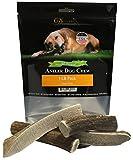 Deluxe Naturals Elk Antler For Dogs, 1 lb Pack for Medium to Large Dogs, Premium, Naturally Shed Elk Antler Dog Chews