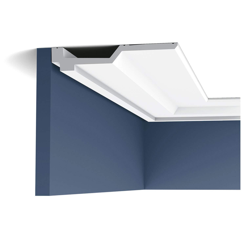 Cornisa Moldura Perfil de estuco Orac Decor C354 LUXXUS Elemento decorativo para pared y techo 2 m: Amazon.es: Bricolaje y herramientas
