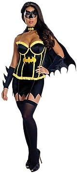 hhalibaba Disfraz de Batman para Mujer Niñas Vestido Sexy de ...