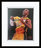 Framed Kobe Bryant Autograph with Certificate of Authenticity