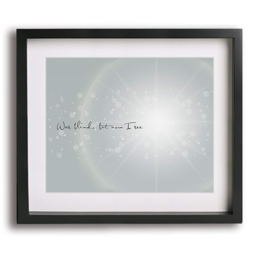 image relating to Amazing Grace Lyrics Printable identified as Remarkable Grace encouraged music lyric artwork print