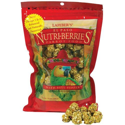 Lafeber Company Gourmet El Paso Nutri-Berries for Parrots, 3-Pound