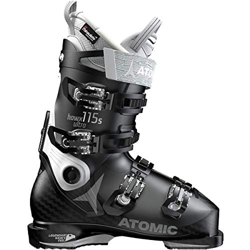 Atomic HAWX Ultra 115 S Ski Boot - Women's Black/White, 24.5