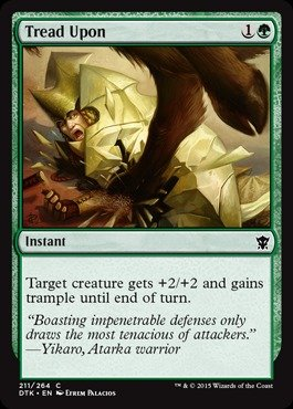 Magic: the Gathering - Tread Upon (211/264) - Dragons of Tarkir (Tread Common)