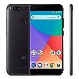 Smartphone Xiaomi Mi A1 dual Android one 7.1 Tela 5.5 64GB Camera dupla 12MP bateria 3080mah Rom Global - Preto