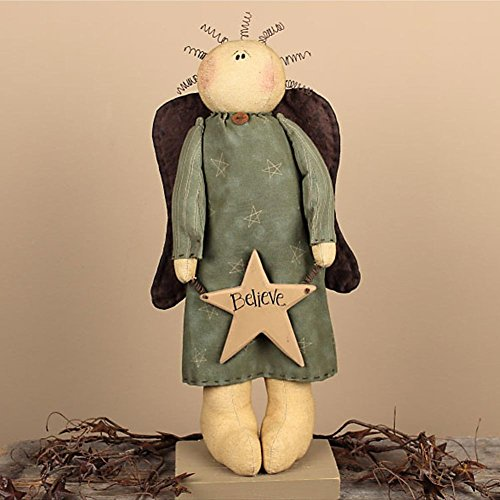Primitive Angel Doll (Standing Believe Angel)