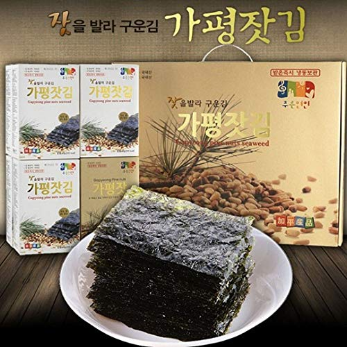 Gapyeong Seaweed with Pine Nuts Oil by Garimi