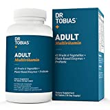 Dr. Tobias Multivitamin & Mineral Plus Enzymes - Enhanced Bioavailability - With Wholefoods