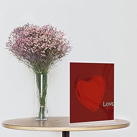 TOROTON Espositori da tavolo con Confine Doro 6 pezzi f/ür 5 x 7 pollice