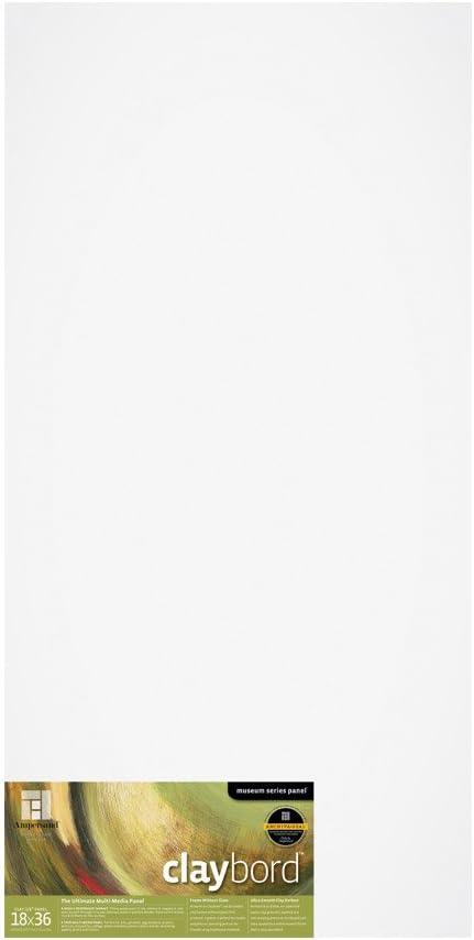 1//8 Inch 8X8 Ampersand Museum Series Claybord