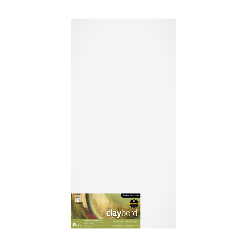 16X16 inch CBS1616 1//8 inch Depth Ampersand Museum Series Claybord Panels for Paint and Ink