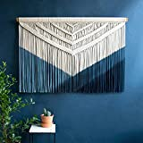 Macrame Wall Hanging Decor Boho Chic Bohemian Woven Home Decoration for Apartment Bedroom Living Room Gallery Perfect Handmade Gift (Size : 150180cm)