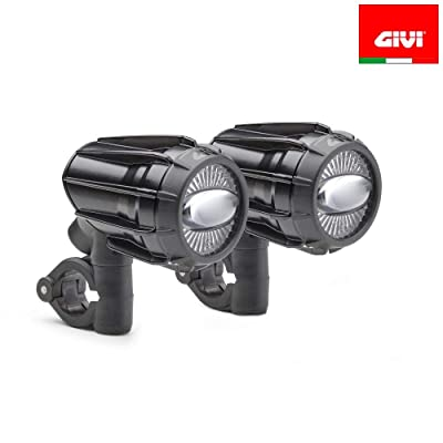 Givi S322 Trekker LED Crash Bar Fog Lights: Automotive