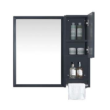 Amazon.de: Wandspiegel Badezimmer Wand-Spiegel Wohnzimmer mit Regal ...