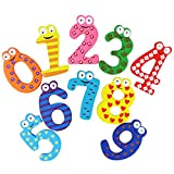 ️ Yu2d ❤️❤️ ️10pcs Fridge Magnets Early Learning Educational Toys Wooden Math