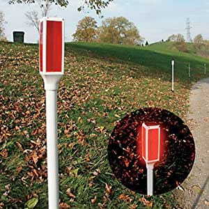 Solar Driveway Marker Rd By Living Accents Mfrpartno Dm R