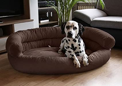 Peachy Slatters Be Royal Store Round Sofa Shape Reversible Dual Ultra Soft Ethnic Designer Velvet Bed For Dog Cat Brown Medium Machost Co Dining Chair Design Ideas Machostcouk