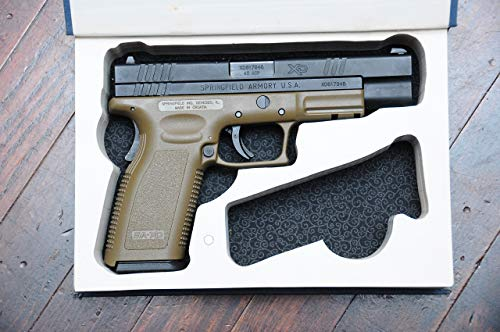 Concealed Gun Storage Book Safe for Full Size Handguns - w/Magazine Slot - for Guns: Glock, Ruger, Springfield, S&W, Colt, CZ, Sig Sauer, Taurus, Kel-tec, Kimber - Book Holster.