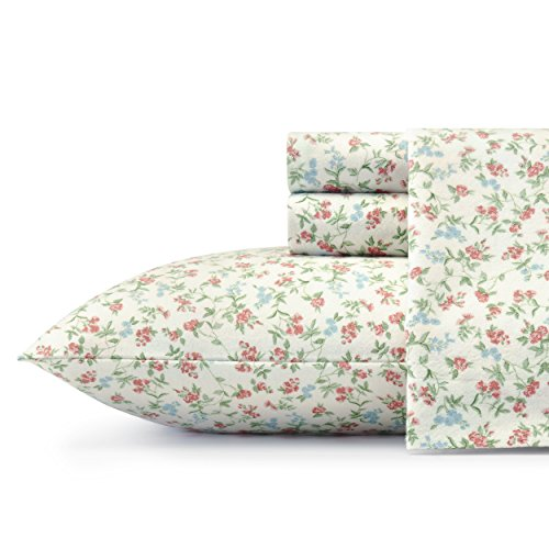 Laura Ashley Lucy Sheet Set, Queen, Bright (Laura Ashley Floral Sheets)