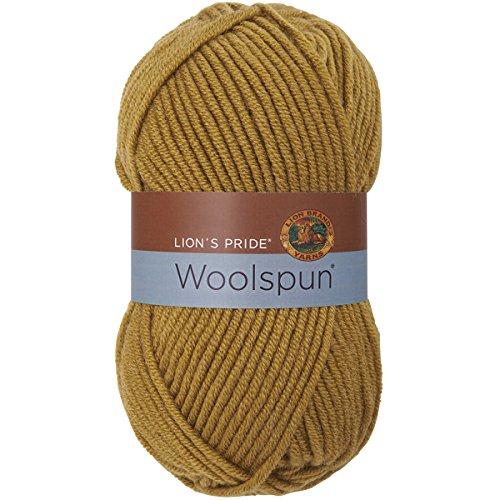 Lion Brand Yarn 671-130 Lion's Pride Woolspun, Honey -