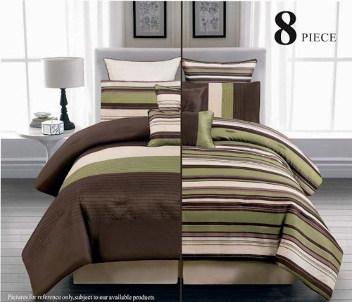 Sage Green And Brown Comforter And Bedding Sets