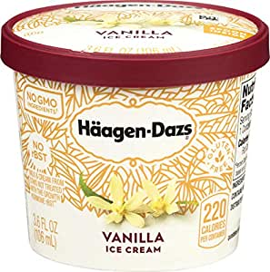 Haagen dazs single serve cups