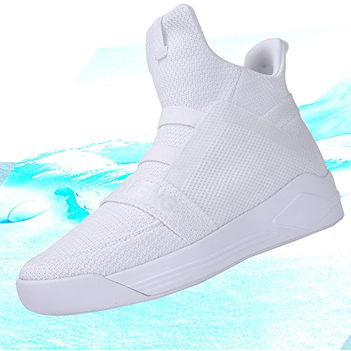 Soulsfeng Uomo Donna Stivali Casual High Top Sneaker Mesh Athletic Shoes Traspirante