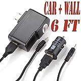 6 Feet Power Supply with Round Jack Plug (6ch) Fits Alldaymall Atm7029 , C1l2c60014, A70m, Allwinner A13 7