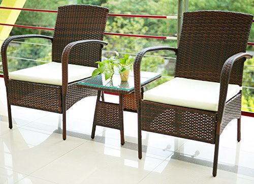 Merax-3-Piece-Cushioned-Patio-PE-Rattan-Furniture-Set-Outdoor-Garden-Wicker-Set-with-Beige-Cushions