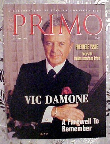Primo Magazine August 2000 (Premiere Issue : Italian