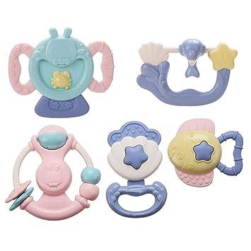 Teether Rattle Set Juguetes para bebés Juguetes para bebés Últimos ...