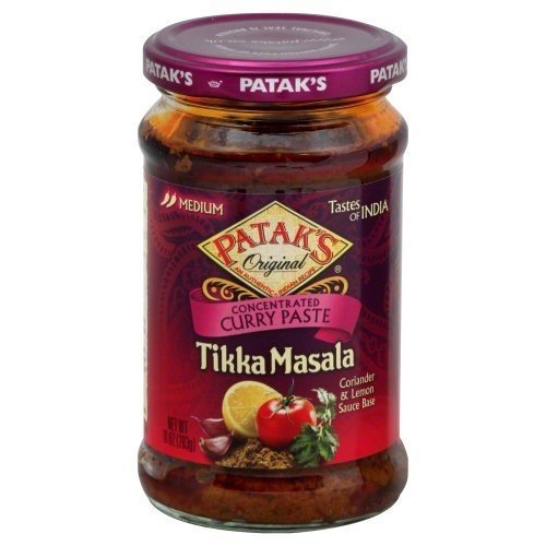 Patak's Tikka Masala Curry Paste, 10-Ounce (Pack of 3)