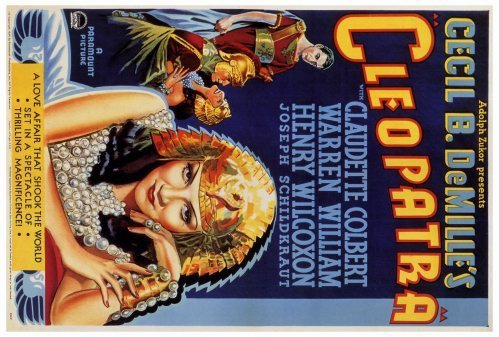 Cleopatra Movie Poster - Cleopatra POSTER Movie (27 x 40 Inches - 69cm x 102cm) (1934)