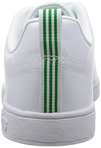 adidas Advantage Clean Vs, Zapatillas para Hombre Blanco (Ftwr White/green)