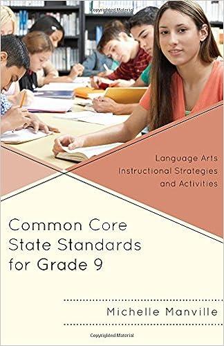 Amazon Common Core State Standards For Grade 9 Language Arts