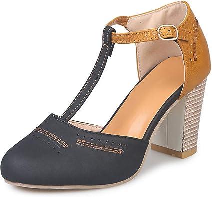 High Thick Heel Sandals